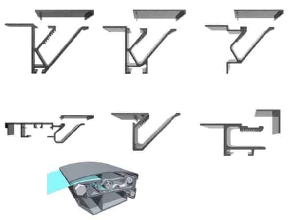 system profili napinających do banerów wielkoformatowych