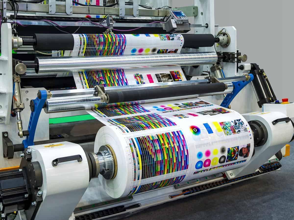 Druk materiałów poligraficznych Usługi poligraficzne drukowanie