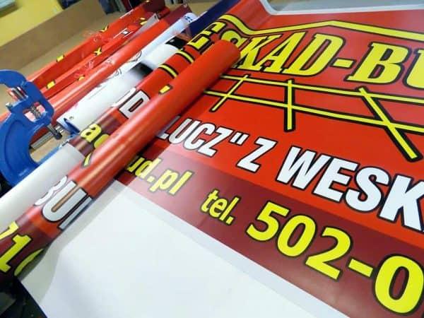 banery reklamowe drukowanie produkcja