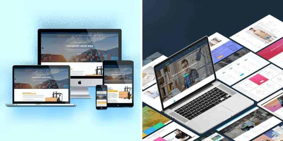 Strony www dla firmy, instytucji, biznesu. Internetowe wizytówki, informacje, aktualności.
