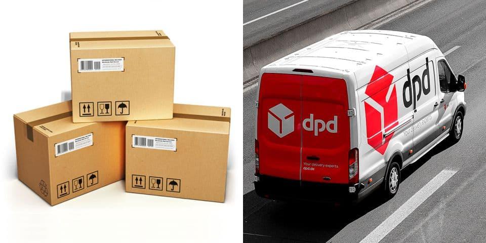 Transport zakupionego towaru, spedycja artykułów reklamowych. Dostarczenie reklamy. Pakowanie, wysyłka kurierem.