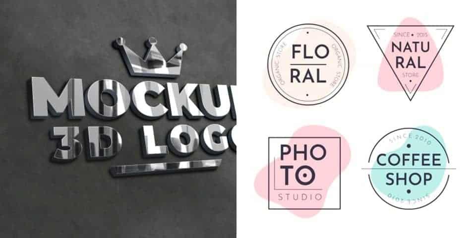 Litery, logotypy, znaki graficzne, szablony literowe