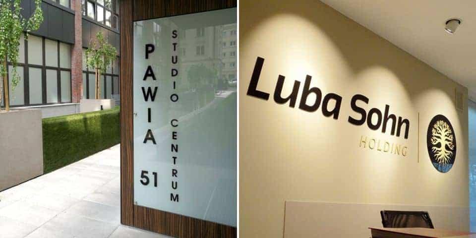 Litery na ściany – reklama i oznakowanie w budynku i na zewnątrz.
