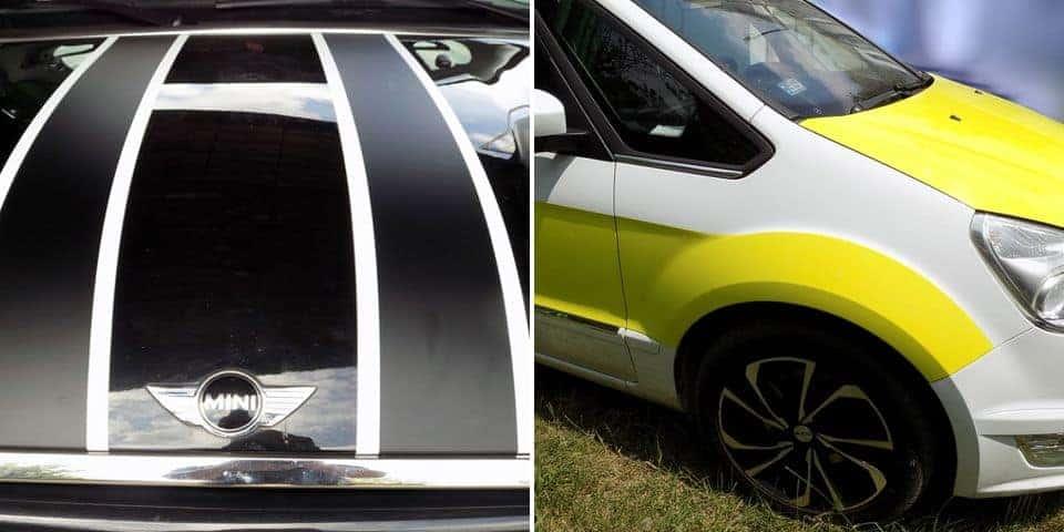 folie samochodowe reklamowe do oklejania auta